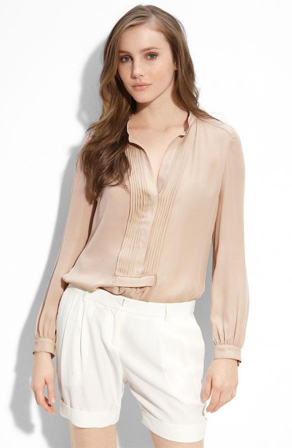 Романтическая блузка