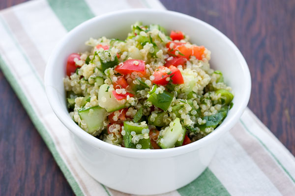 Greek Quinoa Salad | Nansiepants